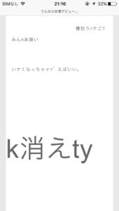 りんなブログ9